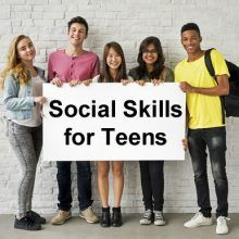 Social Skills for Teens Training Classes - etiquette and people skills for success in life.