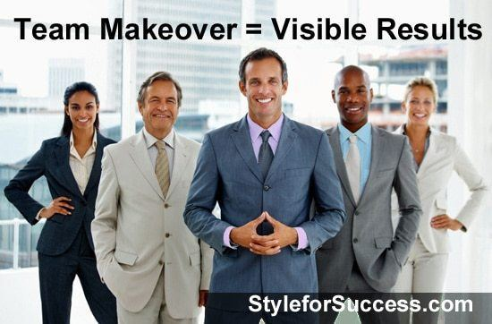 Corporate Team Image Makeover with visible results