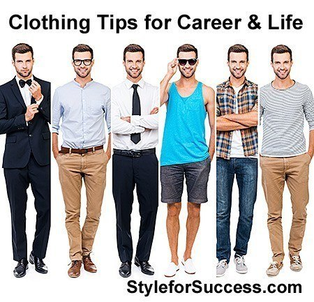 Business Dress Tips - Dress for success attire and casual wear advice for a successful brand