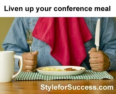 Conference Dining Keynote that informs and entertains
