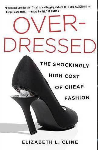 Our book pick - cover of Overdressed by Elizabeth Cline - chosen by Canadian corporate image consultants