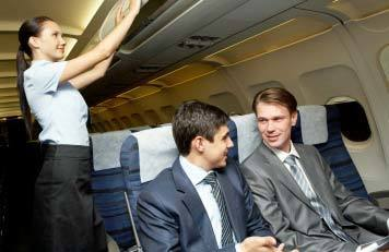 Tips and Advice for Using Flights to Build Relationships and Business on airplanes