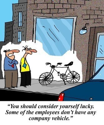 You Should Consider Yourself Lucky To Have Bike