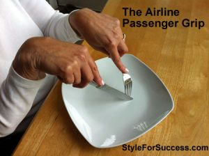 Table Manners Airline Grip