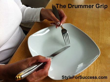 Table Manners Drummer Grip