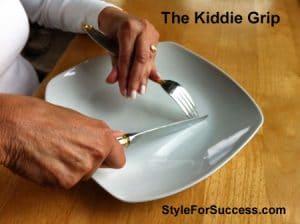 Table Manners Kiddie Grip