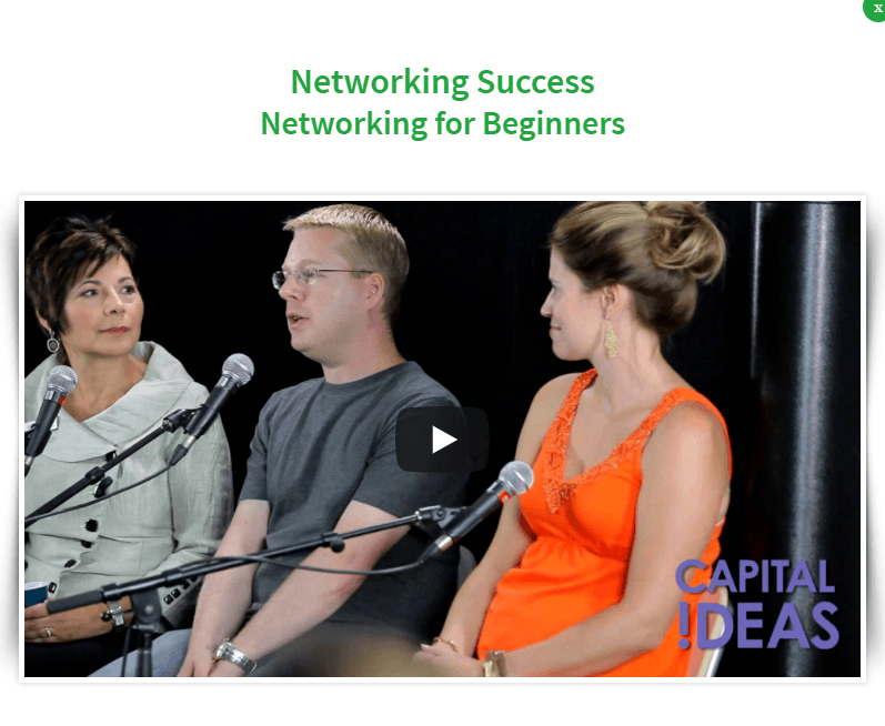 Capital Ideas - Networking For Beginners