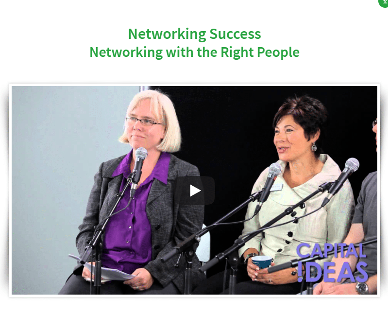 Capital Ideas - Networking With The Right People
