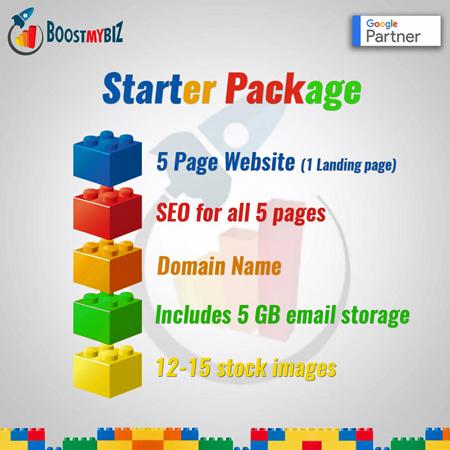 Website makeover by BoostMyBiz.com